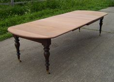 ANTIQUE DINING TABLES | Antique Dining Table - 11ft Narrow Width Early Victorian Dining Table ...