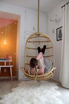 Zauberhaftes Schlafzimmer in zarten Farben für Mädchen  - #Kinderzimmer