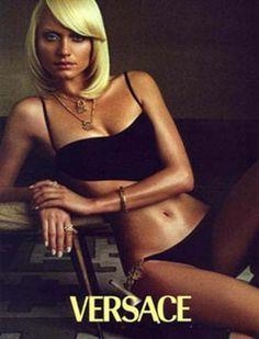 Amber Valletta for Versace Spring 2000
