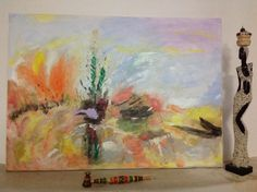 """Linguagem de cores"" - Vendido 70x50"