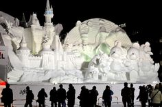 Two Magnificent Ice Festivals in Japan!! (13 photos) - My Modern ...