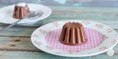 Budino al cioccolato con agar-agar