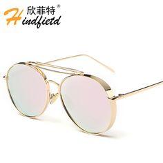 $7.54 (Buy here: https://alitems.com/g/1e8d114494ebda23ff8b16525dc3e8/?i=5&ulp=https%3A%2F%2Fwww.aliexpress.com%2Fitem%2FWomen-Sunglasses-Brand-designer-luxury-Metal-pink-glasses-adult-color-film-Reflective-Lens-outdoor-fishing-eyewear%2F32735937101.html ) Women Sunglasses Brand designer luxury Metal pink glasses adult color film Reflective Lens outdoor fishing eyewear oculos de sol for just $7.54