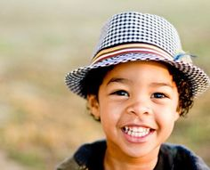 Love this hat!  And this kids smile!