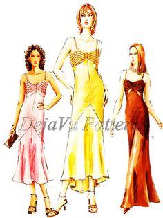 Vogue V7850 Misses' Evening Dress Sewing Pattern by DejaVuPatterns