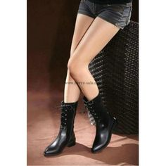 Chanel 2015 new style leather Boots CB011