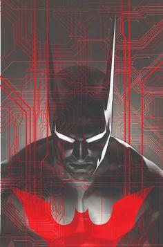 'Batman Beyond' print by Ben Oliver though Sideshow Collectibles Posters Batman, Batman Artwork, Batman Beyond, Nightwing, Batgirl, Gotham City, Comic Books Art, Comic Art, Book Art