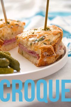 Croque Monsieur: Fireside or Poolside