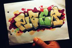 zyber graffiti sketch