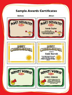 Free printable cheerleading certificates cheerleading awards to cheerleading award templates enable you to create custom printable award certificates for players coaches and team parents yelopaper Choice Image