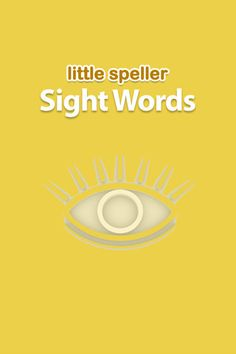 Little Speller Sight Words by GrasshopperApps.com:  Adaptable to suit your child's needs.  Allows one to add text, pictures, and record sounds or words.  This FREE app has great reviews and is available for iPhone and ipad.  I will be looking into more from this company.
