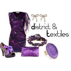 District 8: Textiles, created by checkers007.polyvore.com  Outfit for The Hunger Games, District 8: Textiles.
