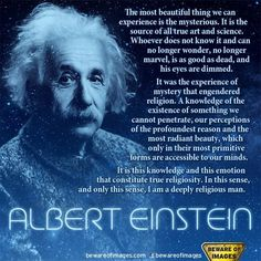 Albert Einstein on Religion ..*