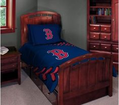 Boston Red Sox Twin / Full Comforter Set