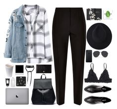 """""""Untitled #2848"""" by wtf-towear ❤ liked on Polyvore featuring Rails, Sole Society, Jaeger, Monki, Dolce&Gabbana, Moleskine, R+Co, Mapleton Drive and Topshop"""