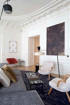 Clássico apartamento em Paris - HARDECOR   Decoração e Lifestyle   HARDECOR   Decoração e Lifestyle