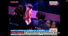 Indian Actress Gauahar Khan Slapped During TV Taping by Male Audience Member Who Didn't Approve of Her Short Skirt, Police Say  Gauahar Khan