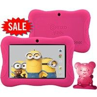 "NEW Contixo 7"" HD Display Kids Tablet 8GB, Bluetooth, Wi-Fi, 20+ Free Games, Kids Place Parental Control - Includes Special Offers, 2015 NOV Edition, Kid-Proof Case (Pink) http://themarketplacespot.com/wp-content/uploads/2015/11/51PHeik3mYL-200x200.jpg   Kids Apps Pre-loaded Contixo tablet LA703 comes pre-loaded with 20+ FREE action games, adventure games, and educational apps to entertain children for hours! Kids will have all the entertainment they need please refer to the"