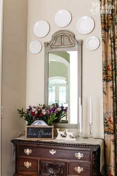 Dining Room... Spring Mantel   Apple Blossom | For The Home | Pinterest |  Mantels, Fireplace Mantel And Mantle