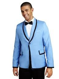 Image result for baby blue tuxedo jacket