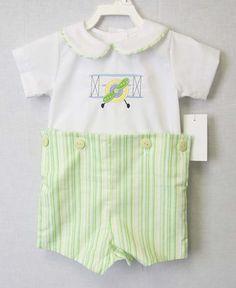 Banner Airplane Applique Short Sleeve Shirt Infant