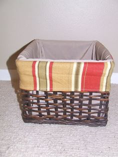Keeping it Simple: Tutorial Tuesday: Basket Lining