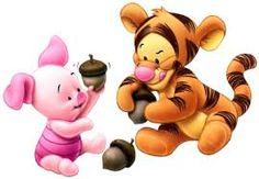 Baby Tigger & Piglet - winnie-the-pooh Fan Art