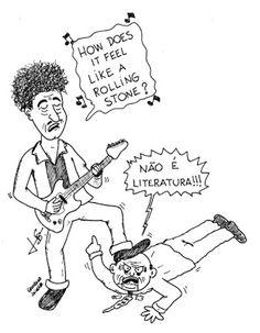 Grooeland: Bob Dylan: uma pedra rolando sobre o conservadoris...