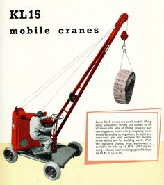 Jones KL15 mobile crane