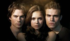 Damon, Elena and Stefan - #TheVampireDiaries