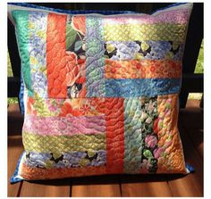 Tutorial: Quilted pillow [a great gift idea] - Craft Gossip