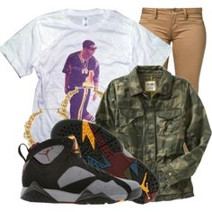 A fashion look from July 2013 featuring print shirts, military jackets and slim jeans. Browse and shop related looks. Swag Outfits, Dope Outfits, New Outfits, Pretty Outfits, Casual Outfits, School Outfits, Tomboy Fashion, Dope Fashion, Teen Fashion
