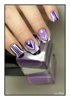Taping #nailart by Sois Polish