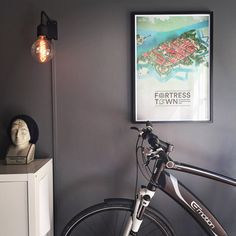 Our illustration of Fredrikstad Fortress Town is now available as a 50x70 poster! Offset lithography on Amber Graphic 240G/M2.
