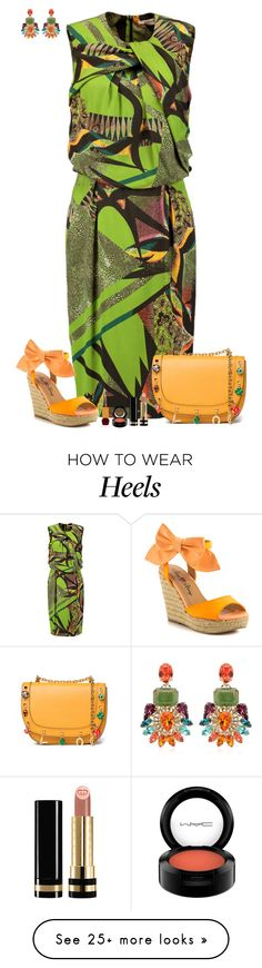"""""""Set 1585"""" by lapshi4ka on Polyvore featuring Anton Heunis, Etro, Penny Loves Kenny, Valentino, Gucci, MAC Cosmetics and Habit Cosmetics"""