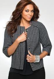 Lane Bryant tweed blazer via MJR Sales $6
