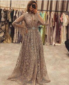 Morrocan Dress, Moroccan Caftan, Lehnga Dress, Caftan Dress, Long Sleeve Evening Dresses, Prom Dresses With Sleeves, African Fashion Dresses, Hijab Fashion, A Line Long Dress