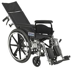 Viper Plus GT Full Reclining Wheelchair 20 Seat WidthFull Arms ** View the item in details by clicking the image