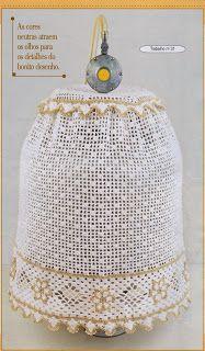 Noeli Croche e Ponto Cruz 2: Gráfico conjuntinho de cozinha / barradinho cesta de crochê Crochet Tunic, Crochet Hats, Beautiful Crochet, Handicraft, Dragon Ball, Hand Embroidery, Dream Catcher, Diy And Crafts, Crochet Patterns