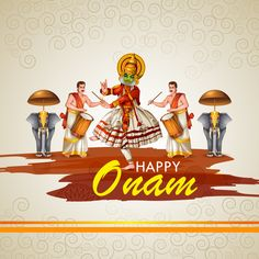 Onam is the most important festival for Malayali Hindus, and is celebrated all over Kerala during the month of Chingam.