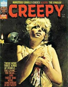 Cover for Creepy (Warren, 1964 series) #79  May 1976