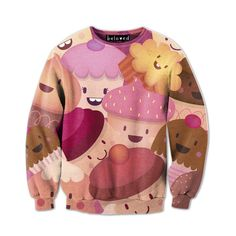 Happy Cupcakes Sweatshirt