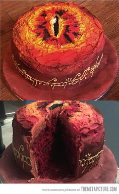 awwwwhhhhaaa~!!!! DREAM CAKE!! I can't wait for the Hobbit to be released in cinemas!!!