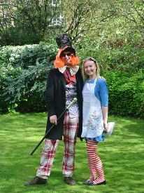 Alice in Wonderland and the Mad Hatter