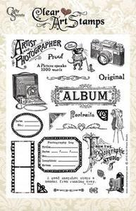 *Crafty Secrets Clear Stamps PHOTO STUDIO Large Set sl34