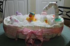 Diaper Cake - BathTub
