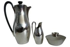 Gorham Silverplate Coffee Set, 3 Pcs