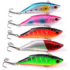 Fishing Lures Winter Fishing Hard Bait VIB with Lead Inside Ice Sea Fishing Tackle Diving Swivel Jig Wobbler Lure ** This is an AliExpress affiliate pin. Clicking on the image will lead you to find similar product on AliExpress website Sea Fishing Tackle, Fishing Worms, Fishing Store, Bass Fishing Lures, Fishing Bait, Carp Fishing, Ice Fishing, Trout Fishing, Fishing Reels