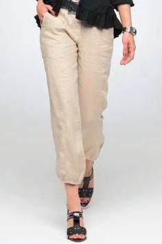 Hannon Linen Blend Cargo Pants | Linens, Pants and Cargo pants