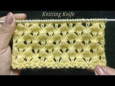 बहुत आसान सुंदर बुनाई, Very Easy Knitting Pattern for Baby Layette, Cardigan, Blanket, Shawl/Muffler - Crochet - Easy Knitting Patterns, Lace Knitting, Knitting Stitches, Knitting Designs, Baby Patterns, Stitch Patterns, Crochet Patterns, Simple Knitting, Baby Layette